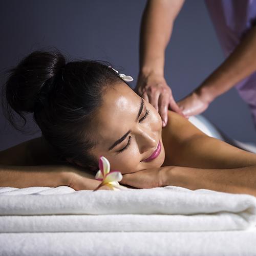 Rücken Nackenmassage